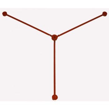 Estrela p/ tripé GX-STS