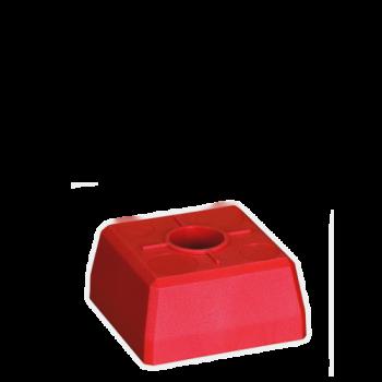 Marca de plástico quadrada